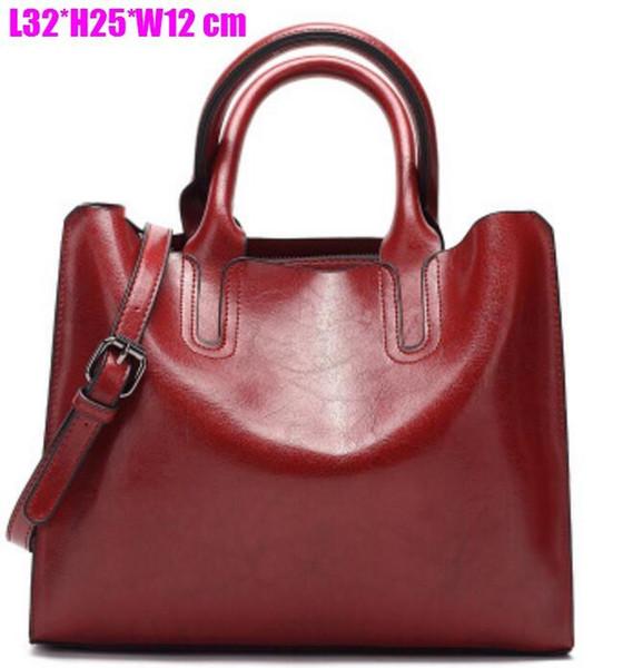 Diseñador clásico bolso Totes bolso de hombro de las mujeres bolso de Crossbody bolsos de cuero genuino de compras bolsas de embrague de mensajero