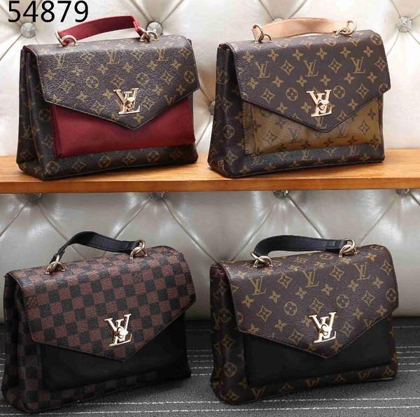 19ss new letter bee shoulder bag, gold metal letter spring lock handbag, adjustable shoulder strap messenger bag, with zipper free post
