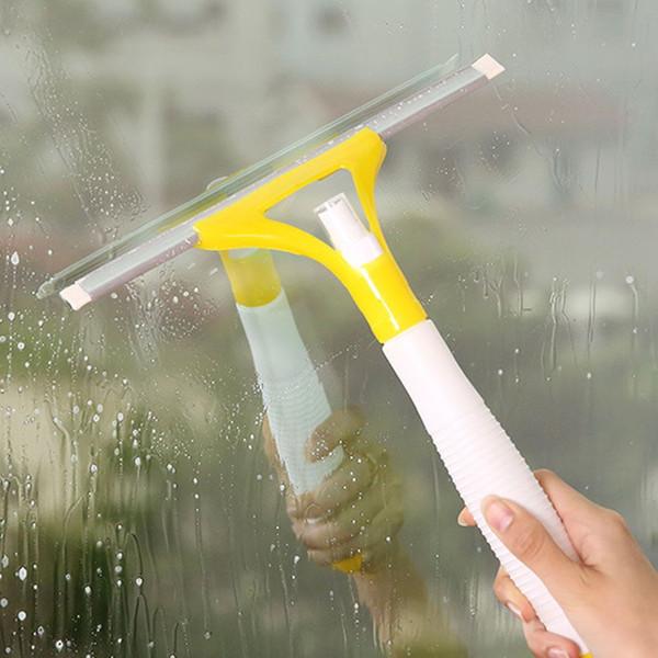 클리너 세척 스크레이퍼 홈 욕실 자동차 창 청소 도구 임의의 색상 창 유리 브러쉬 와이퍼 HK0318 스프레이