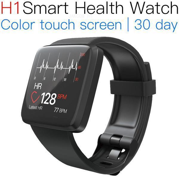 JAKCOM H1 Smart Health Watch Новый продукт в смарт-часах из натуральной кожи 2019 bip lite
