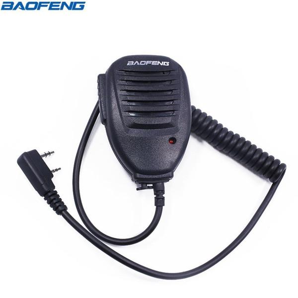 5pcs Original BaoFeng UV-5R Handheld Microphone Speaker Mic PTT for Baofeng Walkie Talkie Portable UV5R Plus BF-888S UV B6 Radio