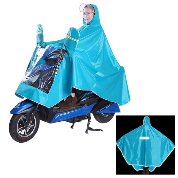 1 stück regenmantel oxford stoff wasserdicht langlebig verdicken regenmantel poncho raincape für elektrische fahrrad motorrad # 319454