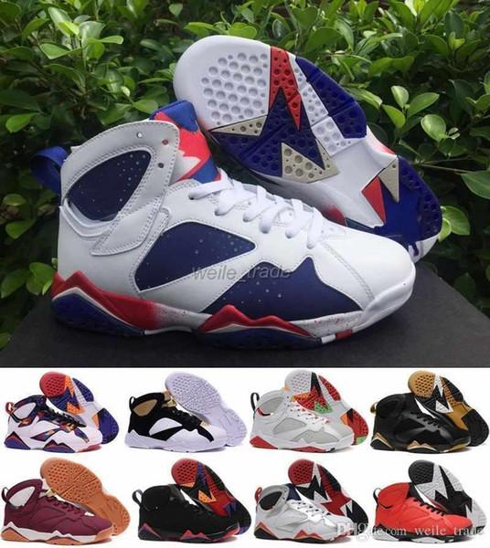 Moda 7 Mens Tênis de Basquete Sapatilhas de Alta Qualidade Homem Vii Tinker Alternate Sneakers Mens Olímpicos Sapatos Esportivos Calçados Esportivos