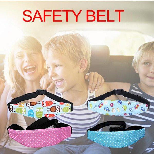 Appui-tête tête des chefs d'auto pour enfants Fixation de sécurité positionneur sangle Installation dans la plupart des sièges convertibles