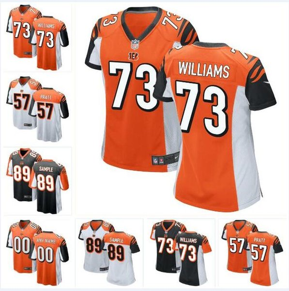 brand new 45ca0 9d626 2019 Draft Jonah Williams Bengals Jersey Drew Sample Germaine Pratt AJ  Green Andy Dalton Tyler Eifert Custom American Football Jerseys Factory  From ...