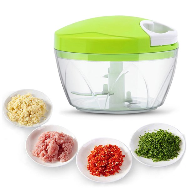 2019 Wholesale Multifunction Vegetable Chopper Cutter Onion Hand Speedy  Chopper Vegetable Fruits Chopped Shredders & Slicers Kitchen Tool From ...