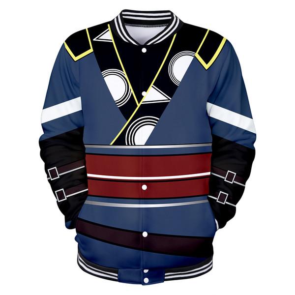 Veste 3D de la mode Fire Emblem Sweatshirt Hommes / Femmes Veste uniforme Fire Emblem Fire Harajuku impression 3D de baseball