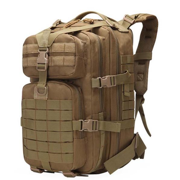 homme Mountaineering Mode Épaules Sac de camping Sac de camouflage de l'armée en plein air sac à dos tactique 40L grande expédition sans sac à dos femme 3P