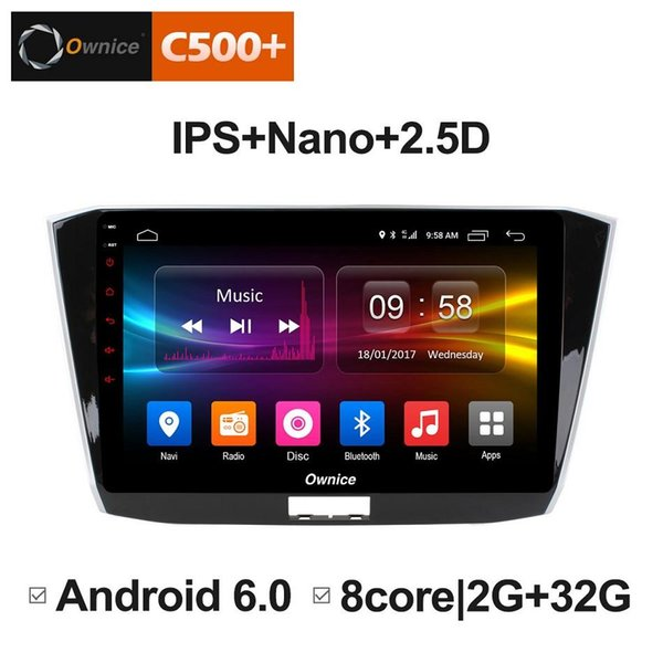 "10.1"" 2.5D Nano IPS Screen Android Octa Core/4G LTE Car Media Player With GPS RDS Radio/Bluetooth For VW Passat 2016 #3851"