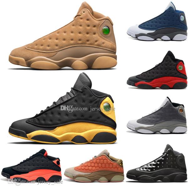 Top Quality 13 13s Terracotta Blush Hommes Chaussures De Basket-ball Histoire de Flight Flints Bred DMP Hommes Sport Baskets Designer Extérieur