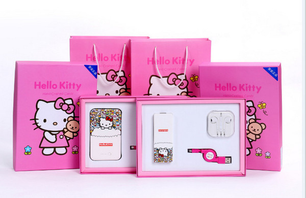 Doraemon A dream gift set general mobile phone mobile power charging treasure