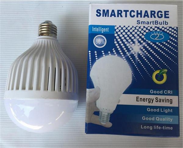E27 7W 9W 12W 15W LED Urgence Lampe Eau Lumière Manuel / Contrôle Automatique Lumière 180 degrés Lumière Les vendeurs de rue utilisent
