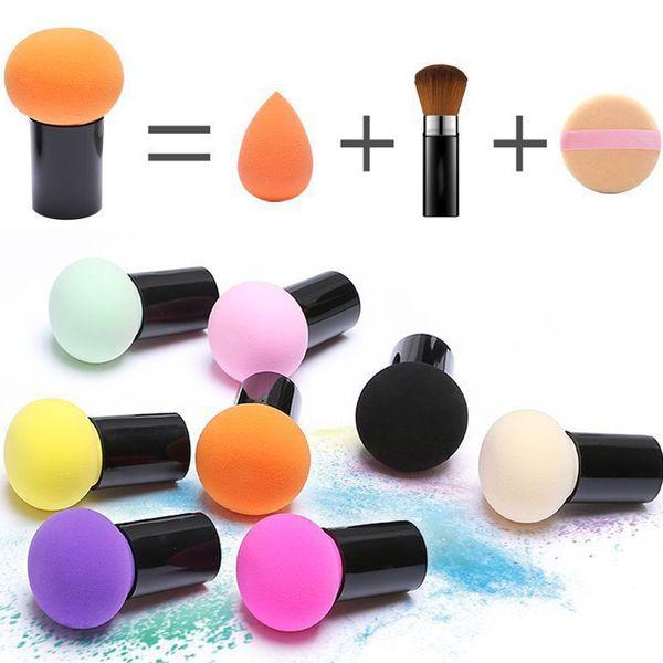 best selling Makeup Sponge Foundation Blush Sponge Cosmetic Puffs Make-up Puffs Mushroom Beauty Tools For Make Up Dry Wet Use Beauty Blender