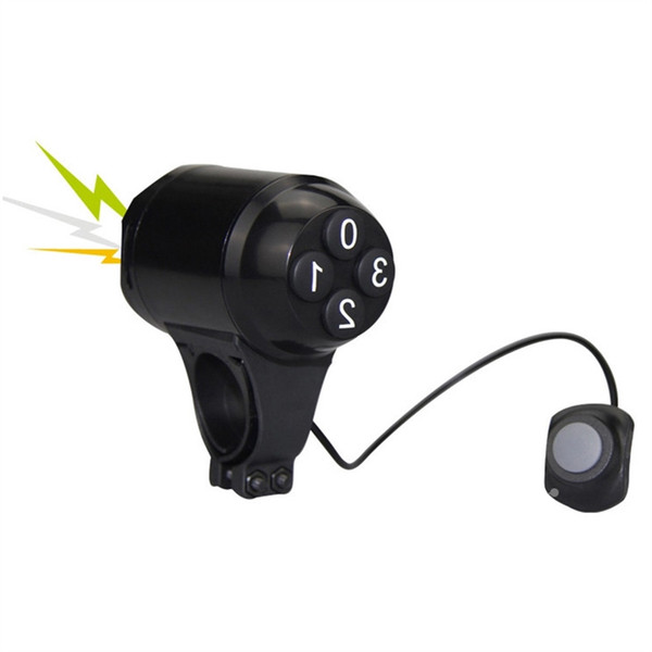 Bicycle Anti-theft Lock Loud Sound Moped Cycling Password Alarm Security Lock M