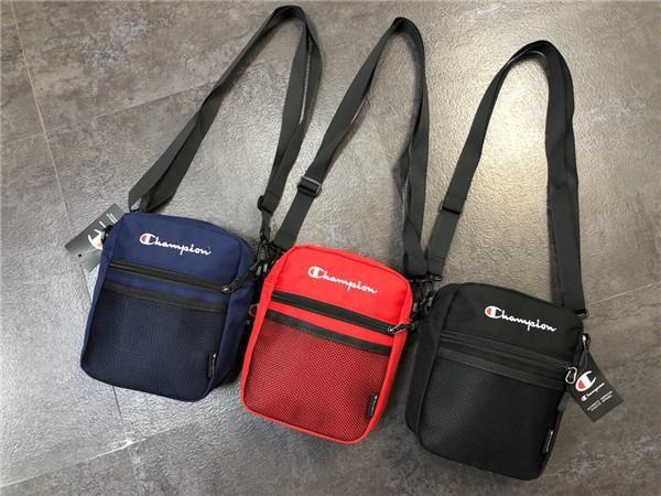 Borse a tracolla 19ss INS Parigi Champions messenger bag zaino amanti dei viaggi Duffel borsa scuola Sacca Sport Zaini Outdoor borsa
