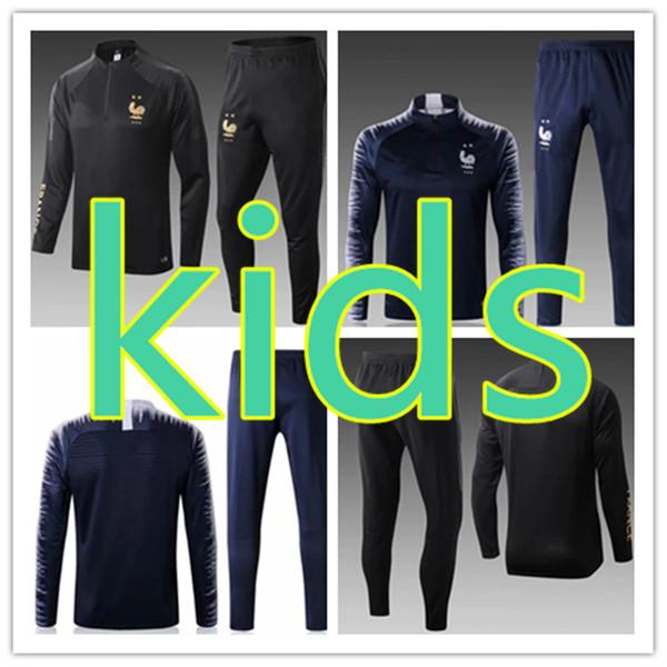 kids tracksuit set boys football training tracksuit 19 20 winter coats boy survetement tuta survêtement pour enfants jogging