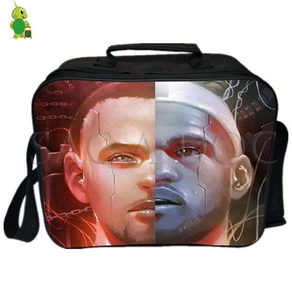James Curry Famous Star Split Lunch Bag Fresh Keeping Cooler Bag Insulation Thermal Lunch Ice pack Women Men Picnic