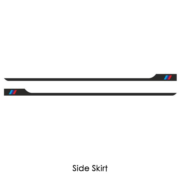 2 pieces Side Skirt