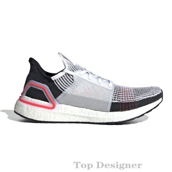 2019 Yüksek Kaliteli Ultraboost 19 3,0 4,0 Ayakkabı Koşu Erkekler Kadınlar Ultra Boost 5.0 çalıştırır Beyaz Siyah Atletik Tasarımcı Sneakers Boyut 36-47 T1B7