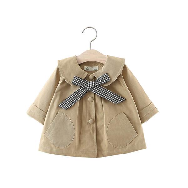 Baby Mädchen Kleidung Mädchen Trenchcoats Baby Mantel 2019 neue Frühling Herbst Mädchen Wind Mantel Kleinkind Outwear Kinder Mantel kleine Mädchen Kleidung A3447