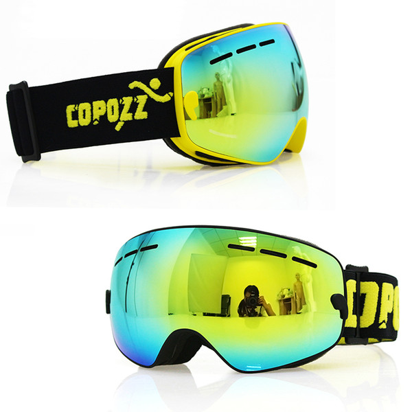 best selling Kids Ski Goggles Small Size For Children Double Uv400 Anti-fog Mask Glasses Skiing Girls Boys Snowboard Goggles Gog-243