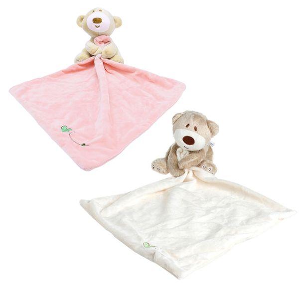 Bebé Niños Manta Manta lavable oso de peluche suave juguete liso rellena felpa