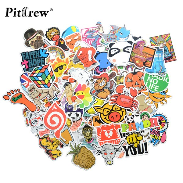 Car Styling Sticker Bomb Doodle Stickers Decals Skateboard Graffiti Snowboard Motorcycle Bicycle Luggage Bags Vinyl Accessories