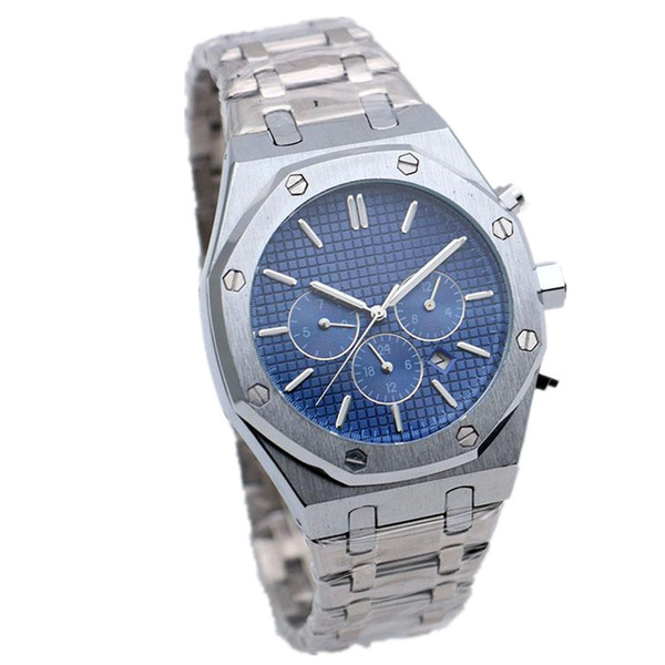 Best Seller Mens Watch Royal Oak Offshore Automatic Mechanical Movement 42mm Stainless Steel All Dials Work Male Clock Wrist Watches Sale