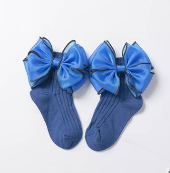 The blue bow