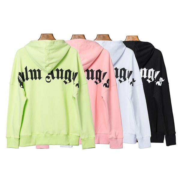 Homens Anjos palma Hoodie Hip Hop Mens Fashion Designer Hoodies de alta qualidade camisola das mulheres manga comprida S-XL