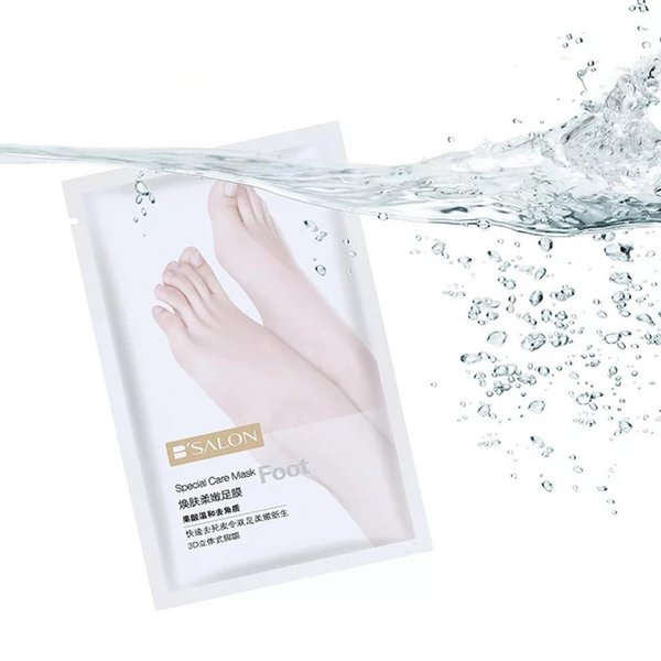 2Pack Exfoliating Baby Foot Socks for Pedicure Peeling Mask Remove Cuticle Moisturizing Foot Mask for Legs Cream