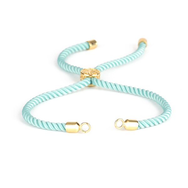 Color:gold mint green