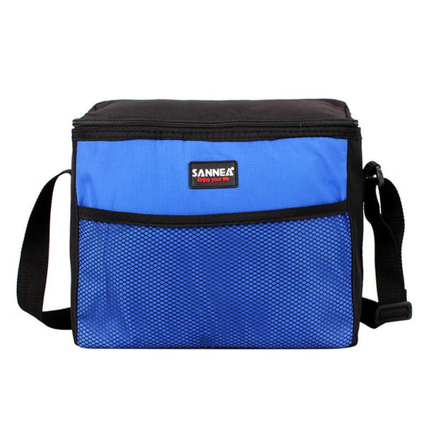ISHOWTIENDA Thermal Lunch Bag For Women Kids Functional Insulated Lunch Box Bag Picnic Zip Pack Waterproof Storage Handbag #XTJ