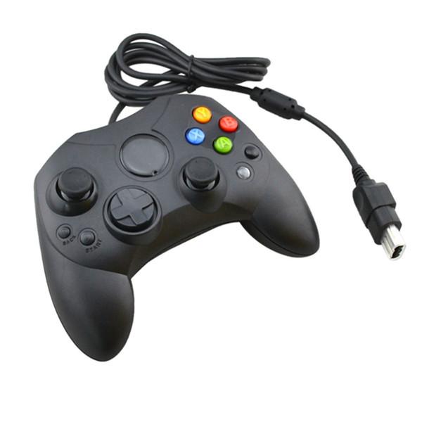 50 adetgrup Kablolu Gamepad Joystick Oyun Denetleyicisi Microsoft Xbox Konsol Oyunları için S Tipi Video Aksesuarları Değiştirme