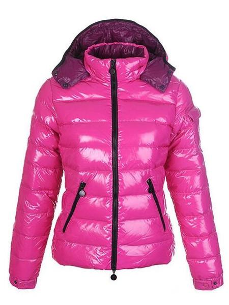 Sıcak! 2019 Moda Kadın AŞAĞı CEKET KISA KAPLAMA MAYA OUTWEAR Aşağı ceket kadın kışlık mont ceket Beş renkler Kapüşonlu ceket