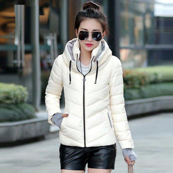 Hooded beige