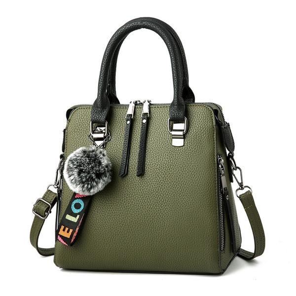 2019 Donne borsa in pelle di marca famosa spalla dell'unità di elaborazione Lady borse di lusso del sacchetto di grande capienza di Crossbody Borse Donne Tote casuale