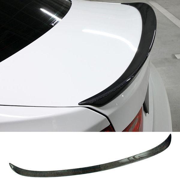 M4 v estilo de fibra de carbono troncos boot lip spoiler apto para bmw 3-series f30 f35