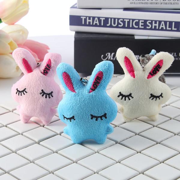 Korea Plush Pendant For Phone Accessories Stuffed Animals Doll Toys Cute Kawaii Mobile Doll Toys Plush Doll Backpacks Accessories