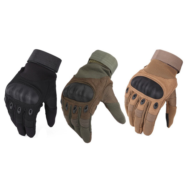best selling 1 Pair Motorcycle Gloves Breathable Unisex Full Finger Glove Fashionable Outdoor Racing Sport Glove Motocross Protective Gloves