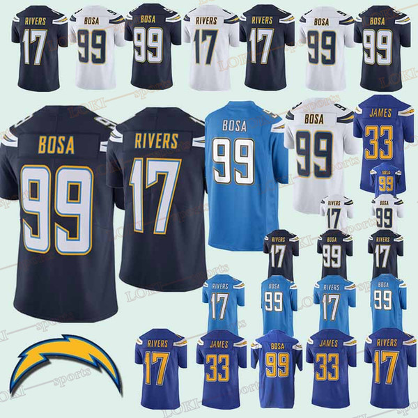 7f0e9d5d Los Angeles 33 Charger jerseys 99 Joey Bosa 17 Philip Rivers 33 Derwin  James 18/