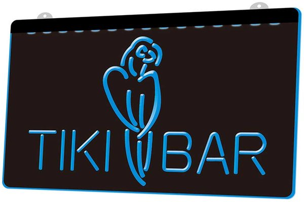 LS1146-b-Tiki-Bar-Parrot-OPEN-Display-NEW-Neon-Light-Sign.jpg Decor Free Shipping Dropshipping Wholesale 8 colors to choose