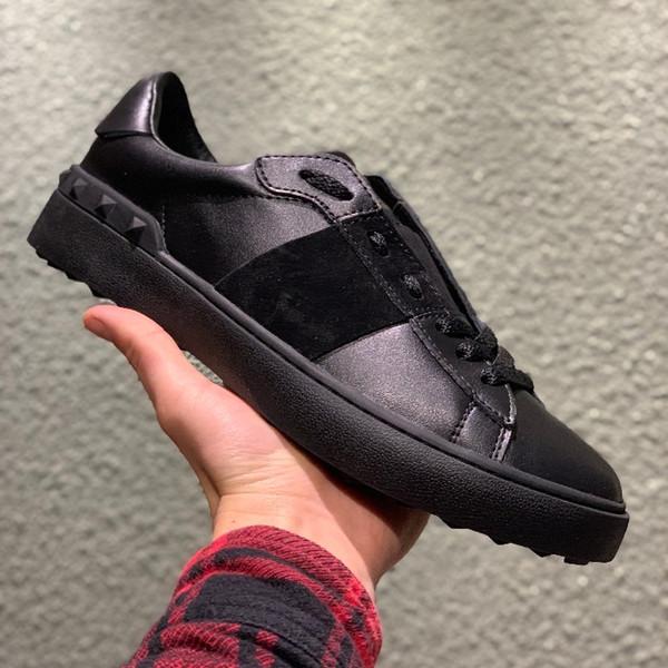 7bdb2de46 Diseñador de moda zapatos casuales para damas hombres zapatos deportivos  chaqueta de encaje plataforma de la