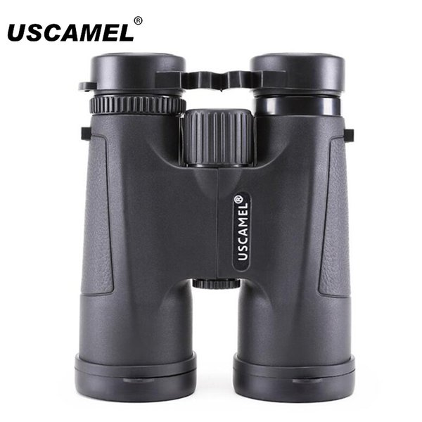 USCAMEL 10x42 Black Binoculars Professional Binocular Nitrogen Waterproof Night Vision For Hunting Optics Hd Telescope