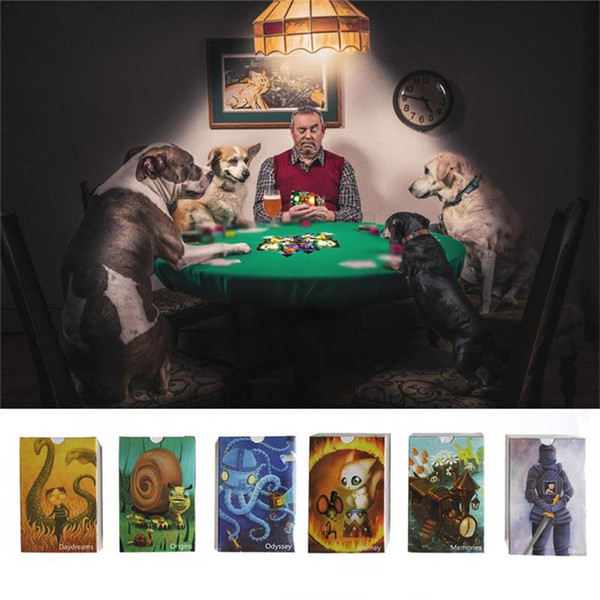84 Cards English Just A Word DIXIT Board Games Family Party Deck Card Game Multiplayer Table Games playing cards kids toys ASS342