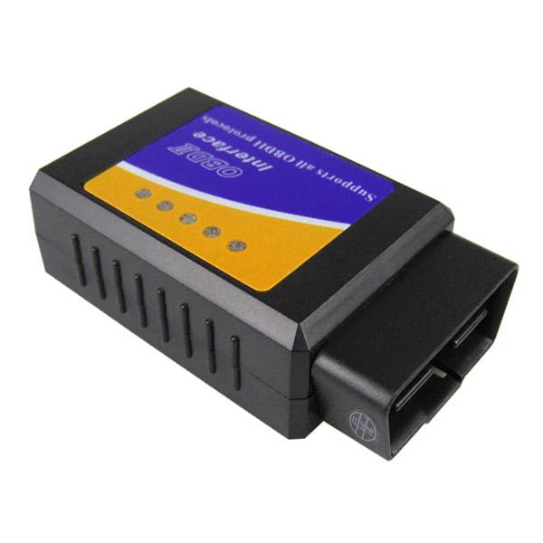 Lo nuevo V1.5 Elm327 Bluetooth Adaptador Obd2 Elm 327 V 1.5 Escáner de diagnóstico automático para Android Elm-327 Obd 2 ii Herramienta de diagnóstico de coche
