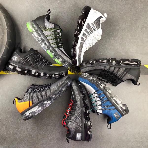 2019 Vapors Run Utility Повседневная обувь для мужчин Трехместный Белый Черный Светоотражающий Средний Оливковый Бордовый Воздушные Дизайнеры Maxes Кроссовки M1