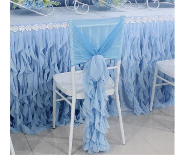 Magnificent Ruffled Chiffon Chair Sash Bamboo Chair Cover Sashes Ruched Home Garden Wedding Brithday Decor Multi Colors Uk 2019 From Ritawholesale3579 Uk 4 23 Short Links Chair Design For Home Short Linksinfo