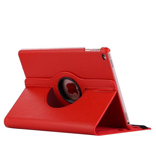 Housse en cuir pivotante à 360 degrés pour iPad 9.7