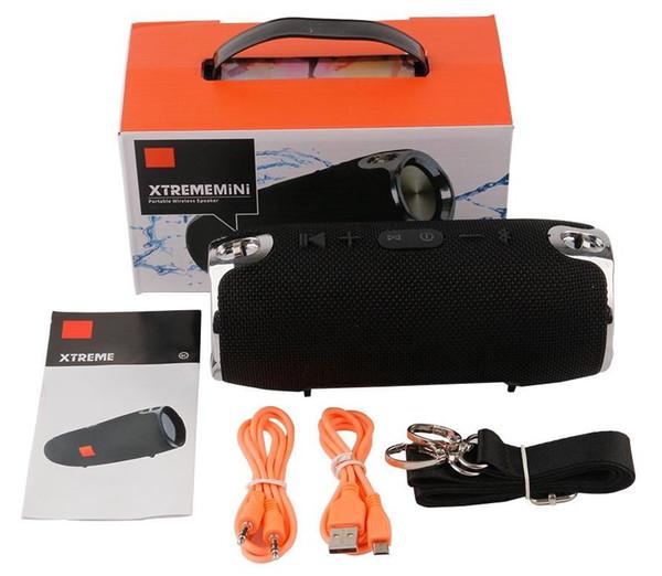 Динамик Bluetooth Mini Xtreme Открытый портативный сабвуфер Беспроводные стереодинамики с ремешками Музыкальный проигрыватель MP3 VS CHARGE 7
